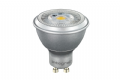 Integral LED GU10 COB PAR16 Silver 6.8W (50W) 4000K 410lm Dimmable Lamp - 40-57-70